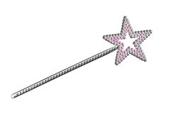 magisk wand Royaltyfri Bild