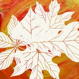 Magiska Autumn Background Arkivbilder
