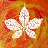 Magiska Autumn Background Arkivbild