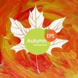 Magiska Autumn Background Royaltyfria Foton