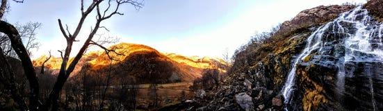 Magiska berg Royaltyfria Bilder