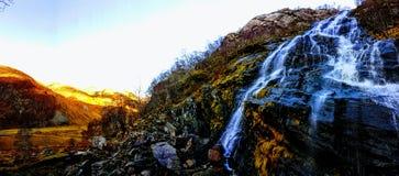 Magiska berg Fotografering för Bildbyråer