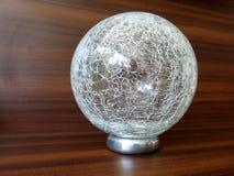 Magiska Crystal Ball Sphere Royaltyfri Fotografi