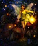 Magiska Forest Fairy Royaltyfria Foton
