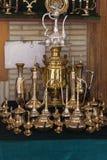 Magiska lampor för souvenir av aladdin Arkivbild