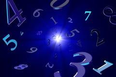 Magiska nummer (numerology). vektor illustrationer