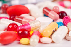 Magiska pills Royaltyfri Foto