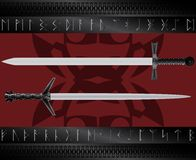 magiska svärd Royaltyfria Bilder