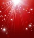 Magiskt festligt ljus Arkivbild