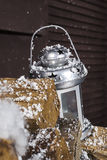 Magiskt julhus Fotografering för Bildbyråer