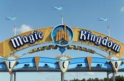 Magiskt kungarike Arkivfoton