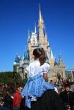 Magiskt kungarike, Disney Royaltyfri Foto