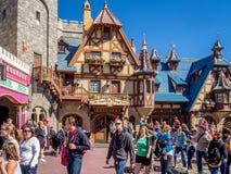 Magiskt kungarike, Disney värld royaltyfri foto