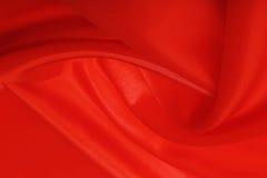 Magiskt rött silke Royaltyfri Foto