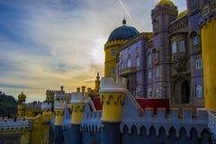 Magiskt slott Royaltyfri Bild