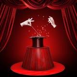 magiskt trick Fotografering för Bildbyråer