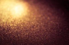 Magiskt varmt skinande blänker dekorativ textur, metalliskt texturerat, M Royaltyfria Bilder