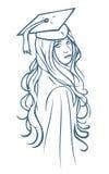 Magisterska dziewczyna Zdjęcie Stock