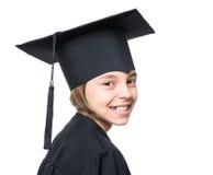 Magisterski mała dziewczynka uczeń Zdjęcia Royalty Free