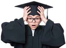 Magisterski nastoletni chłopiec uczeń Zdjęcie Stock