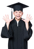 Magisterski nastoletni chłopiec uczeń Obrazy Royalty Free