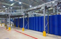 Magistrala sortuje centrum międzynarodowy urząd pocztowy w Moskwa Obrazy Stock