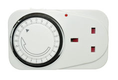 Magistrala zegaru adaptator fotografia stock