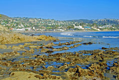 Magistrali plaży park, laguna beach, Kalifornia. Obrazy Royalty Free