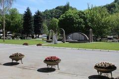 Maglaj BiH royalty-vrije stock afbeelding