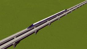 Maglev Serie Raster 6 Stockfotografie