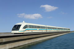 Maglev train Royalty Free Stock Photo