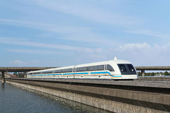 Maglev train Royalty Free Stock Images