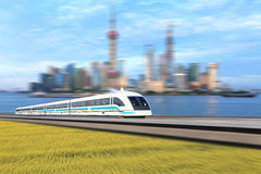 Maglev train Stock Images