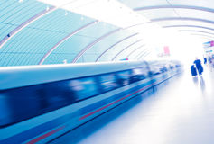 Maglev Train Station Royalty Free Stock Images