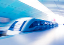 Maglev Train Station Stock Image