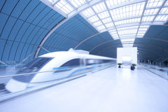 Maglev Train  station Stock Photos
