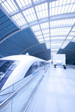Maglev Train  station Stock Photography