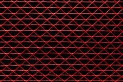 Maglia contro un fondo nero Fotografie Stock Libere da Diritti