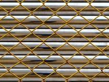 Maglia d'acciaio Fotografia Stock