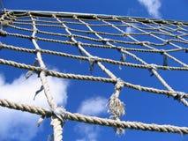 Maglia della scaletta del cavo Fotografia Stock Libera da Diritti