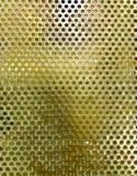 Maglia dorata circolare Fotografie Stock Libere da Diritti
