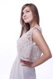 Maglia in merletto e panno di tela Fotografia Stock
