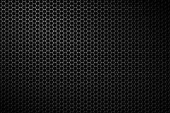 Maglia nera dell'altoparlante del metallo Fotografie Stock
