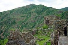 Maglic Festung stockfotos