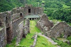 Maglic Festung lizenzfreie stockfotos