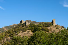 Maglic fortress Stock Images
