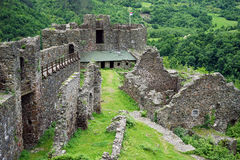 Maglic fortress royalty free stock photos
