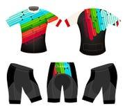 Maglietta allegra di sport di colori Fotografie Stock