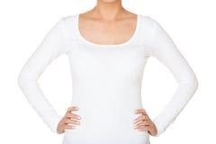 Maglietta bianca Immagine Stock Libera da Diritti