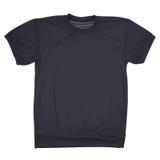 Maglietta in bianco nera (percorso di ritaglio) Immagine Stock Libera da Diritti